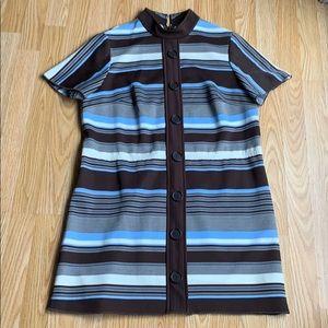 Dresses & Skirts - Vintage Retro Mock Turtleneck Dress